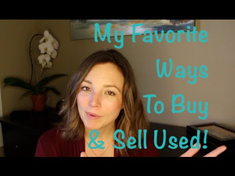 How I Buy & Sell Household Items, Clothes & More, Locally!
