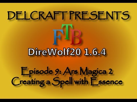 Ars Magica 2 : Creating a Spell with Essence