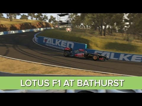 Forza 5: Lotus F1 Car at Bathurst Gameplay - Onboard and Replay Xbox One 1080p HD