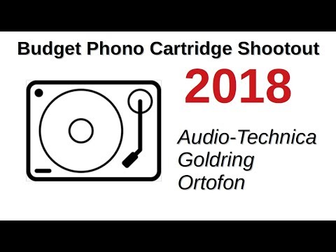 Budget Phono Cartridge Shootout 2018