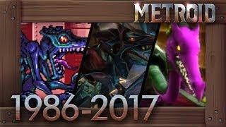 Evolution of Ridley Battles in Metroid Games [1986–2017]