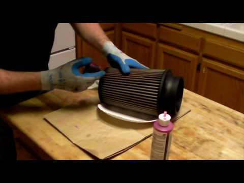 How to clean and oil a K&N / S&B air filter.