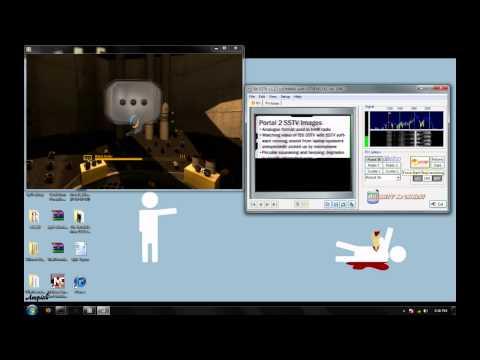 Portal2 Secrets: Part 3 (SSTV decoding)