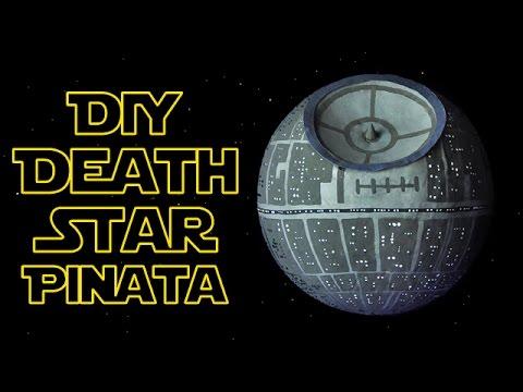 DIY Star Wars Death Star Pinata