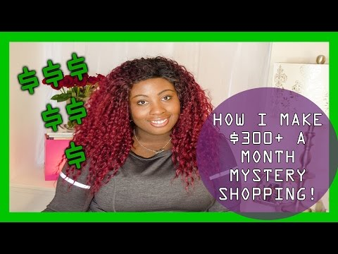 HOW I MAKE $300+ A MONTH MYSTERY SHOPPING | #SaveWithSheila