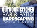 Outdoor Kitchen, Bar, & Patio Hardscaping Installation Hanover, PA Area RYAN'S LANDSCAPING