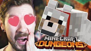 I SUMMONED MY MINECRAFT DOG | Minecraft Dungeons #2