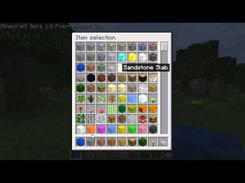 Minecraft 1.8 Creative mode Flying, unlimited blocks, and more!