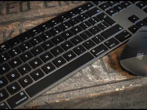 Space Grey Official Apple Keyboard & Mouse available to all!