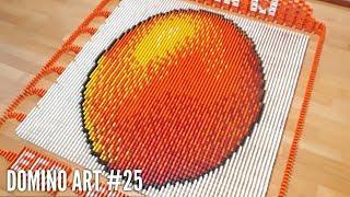 HUGE EGG MADE FROM 6,500 DOMINOES | Domino Art #25