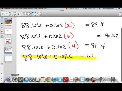 Finding Patterns and Solving Equations (Part 2)