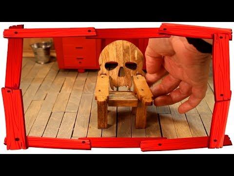 Tiny Adirondack Skull Chair