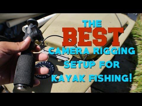 The BEST Camera Rigging Setup For Kayak Fishing! (4K)