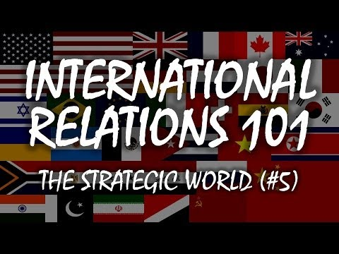 International Relations 101 (#5): The Strategic World