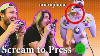 I Built a Terrible N64 Controller for GameGrumps