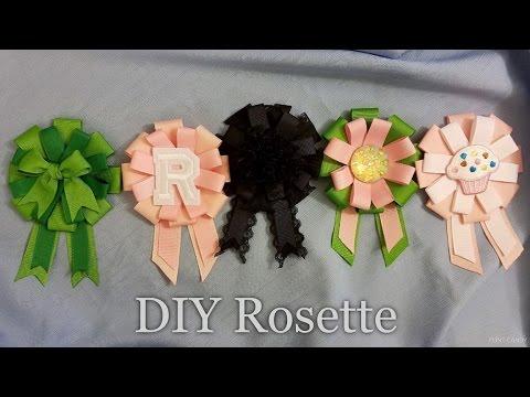DIY Easy Lolita Rosette