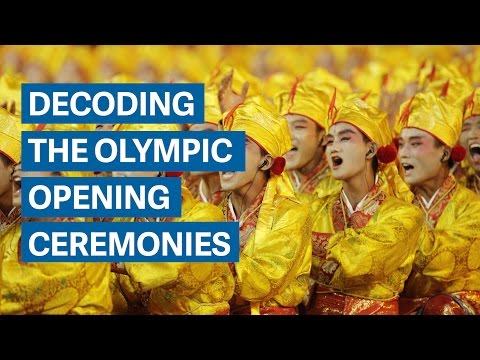 Decoding the Olympic opening ceremonies