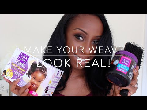 How to Make Your Weave Look Real!
