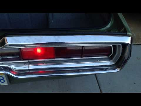 1966 Ford Thunderbird sequential turn signals