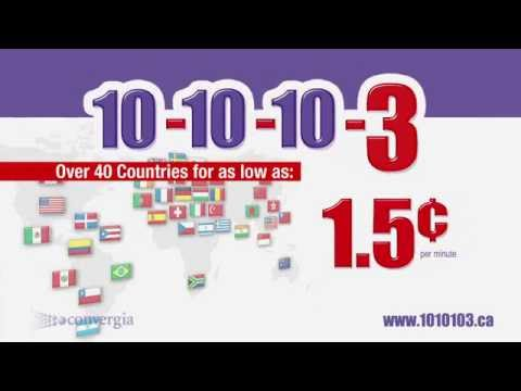 1010 Long Distance Calling Rates From 1.5¢ a Minute