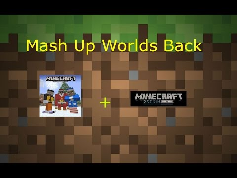 Minecraft Help:How To Get MashUpPack Worlds Back