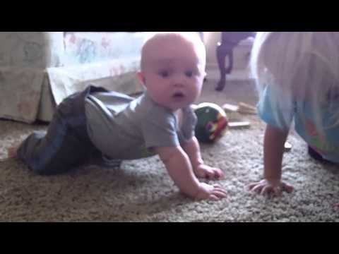 Baby Crawling Progression