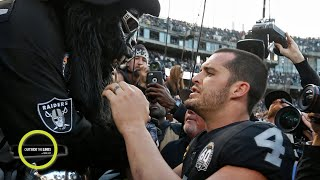 'The Black Hole' turned on Derek Carr at the Raiders' last game in Oakland   Outside the Lines