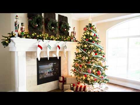 DIY Christmas Mantle Decor - Farmhouse Shutters