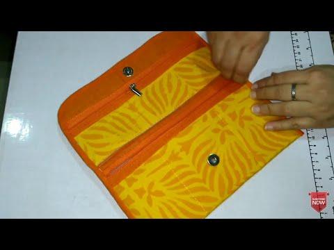 DIY Designer Clutch, WA7715021990, Partywear Purse, Small Purse, Clutch Bag make at home