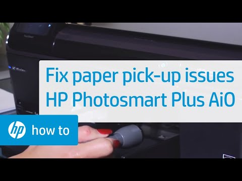 Fixing Paper Pick-Up Issues - HP Photosmart Plus All-in-One Printer (B209a)