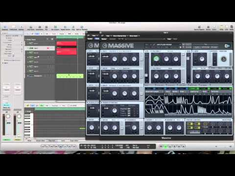 How to make a dirty dubstep wobble synth in Massive l Swedish l