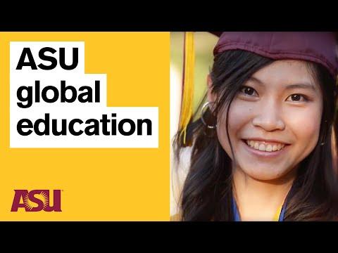 International students studying at Arizona State University (ASU)