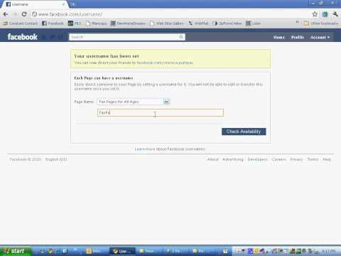 Got Fan Page?  How to Create a Custom URL for Facebook Fan Page