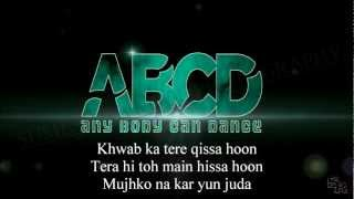 Bezubaan ABCD Lyrics By Sumesh Rawool HD