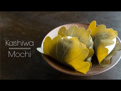 How To Make Kashiwa Mochi (Recipe) 柏餅の作り方 (レシピ)