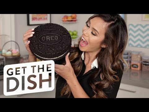How to Make a Giant Oreo Cookie   Eat the Trend