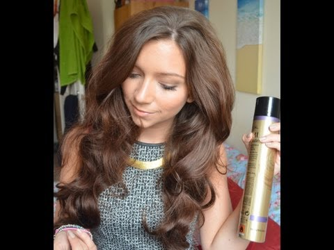 Big Wavy Hair Tutorial: How I Style My Hair l Dizzybrunette3