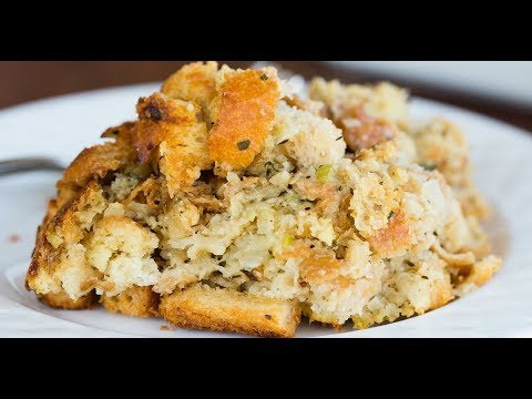 Traditional Bread Stuffing Recipe