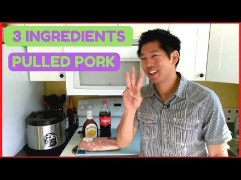 Pulled Pork in Slow Cooker Coke