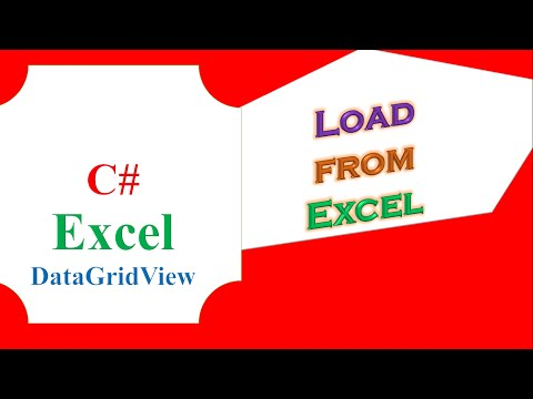 C# DataGridView Excel   Load Data From Excel File