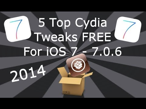 5 Top Cydia Tweaks (FREE) On iOS 7 iPhone, iPad & iPod Touch