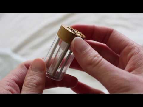 Clear lightsaber crystal chamber blade plug unboxing (eBay seller jarret921)