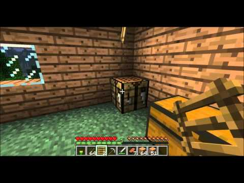 Minecraft Tutorial Part 3: How to Make Stairs, Fences & Ladders LIKE A BOSS