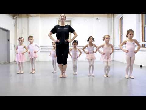 Joffrey Ballet School NYC Pre Ballet 1 Class, for Ages 5-6 - The Children's Program