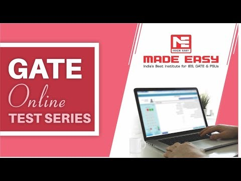 GATE Online Test Series 2019 |  Mock Test GATE CE EE ME CS EC