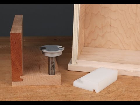 Infinity Cutting Tools - Drawer Locking Router Bit
