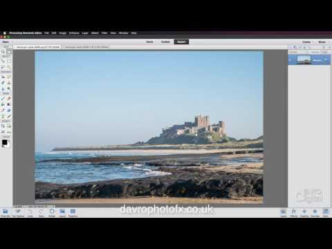 Working with a jpg image in Camera Raw Photoshop Elements