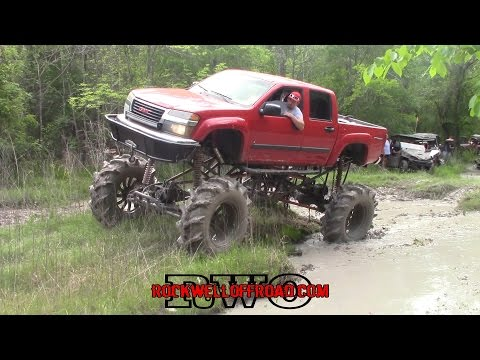 TRAIL RIDING WITH THE BEST MUD TRUCKS!!!