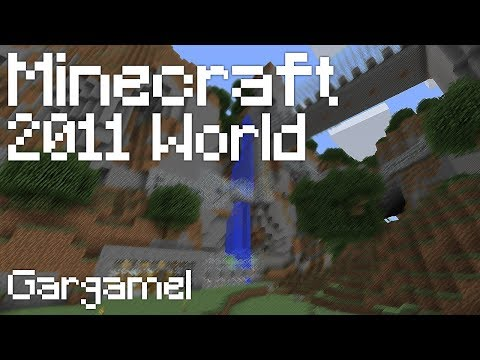 Minecraft: GARGAMEL SEED! (Minecraft Tour 2011)