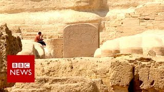 The dream of Egypt's Tuthmosis IV  in 360 Video - BBC News